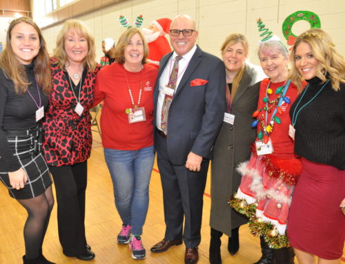 Immediate Care joins in and helps Holiday Express for the 2018 Holiday Season