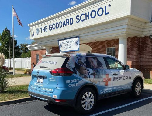 Immediate Care's Mobile Testing team provides staff of the Goddard School of Toms River Rapid COVID-19 tests